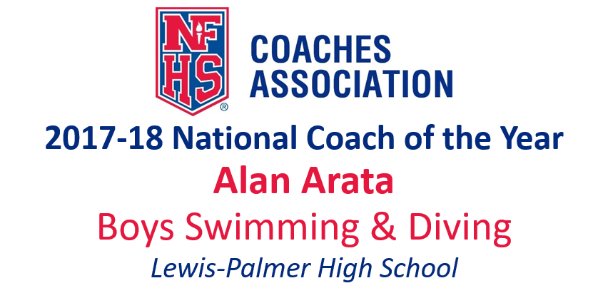 Alan Arata: National Boys Swimming & Diving Coach of the Year (2017-18)