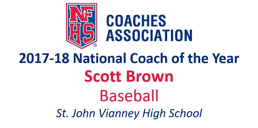 Scott Brown: National Baseball National Coach of the Year (2017-18)