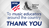 A Thank You to Music Educators